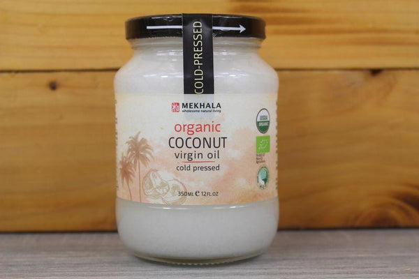 Mekhala Organic Virgin Coconut Oil 350ml Pantry > Dressings, Oils & Vinegars