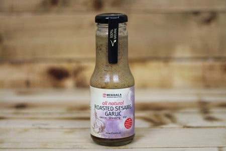 Mekhala Roasted Sesame Garlic Dressings 250ml Pantry > Dressings, Oils & Vinegars