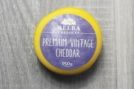 Melba Cheese Co Premium Vintage Cheddar 150g Dairy & Eggs > Cheese