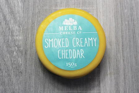 Melba Cheese Co Smoked Creamy Cheddar 150g Dairy & Eggs > Cheese