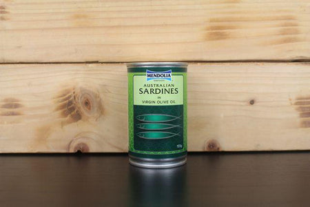 Mendolia Sardines In Virgin Olive Oil 155g Pantry > Canned Goods