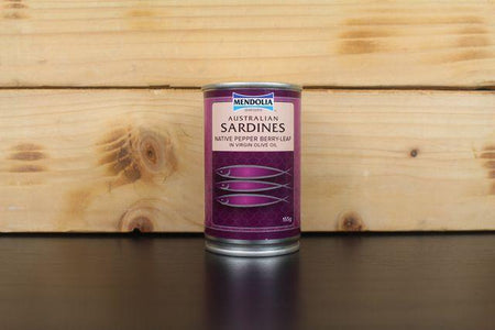 Mendolia Sardines Pepper Berry Leaf 155g Pantry > Canned Goods