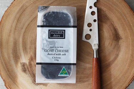 Meredith Dairy Goat Cheese Dusted with Ash 150g* Dairy & Eggs > Cheese