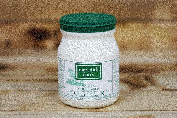Meredith Dairy Natural Sheep Milk Yoghurt with Probiotic Cultures 500g* Dairy & Eggs > Yoghurt