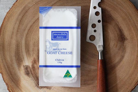 Meredith Dairy Plain Goat Cheese 150g* Dairy & Eggs > Cheese