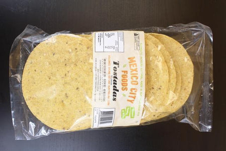 Mexico City Foods Tostados 6in 10pack Bakery > Wraps