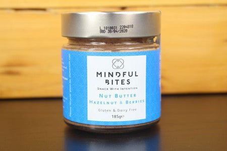Mindful Bites Hazelnut & Berries Nut Butter Jar 185g Pantry > Nut Butters, Honey & Jam