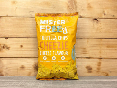 Mister Freed Mister Freed Cheese Tortilla Chips Pantry > Cookies, Chips & Snacks