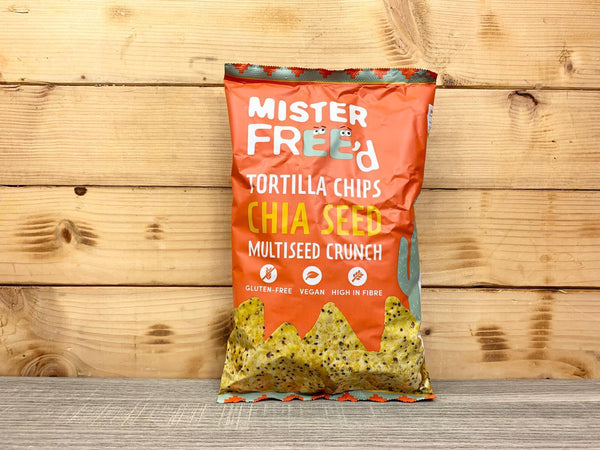 Mister Freed Mister Freed Chia Tortilla Chips Pantry > Cookies, Chips & Snacks