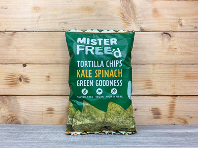 Mister Freed Mister Freed Kale Tortilla Chips Pantry > Cookies, Chips & Snacks