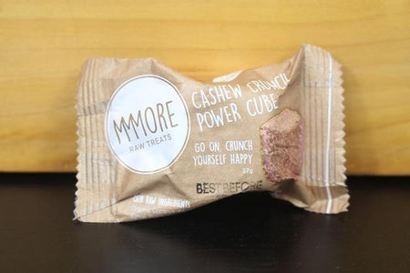 MMMore MMMore Cashew Crunch Power Cubes 37g Pantry > Granola, Cereal, Oats & Bars