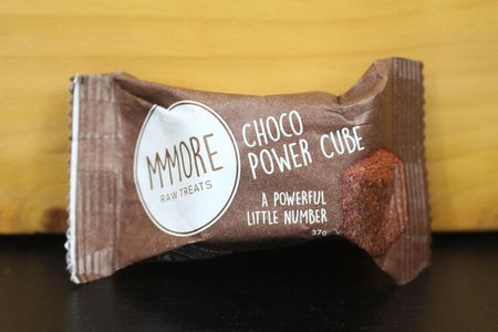 MMMore MMMore Choco Power Cubes 37g Pantry > Granola, Cereal, Oats & Bars