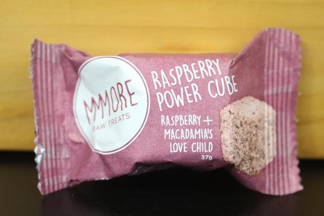 MMMore MMMore Raspberry Power Cubes 37g Pantry > Granola, Cereal, Oats & Bars
