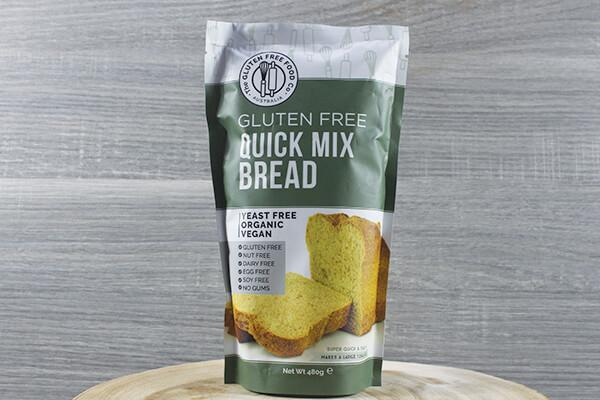 Monica's Mixes Gff Quick Mix Bread 480g Pantry > Baking & Cooking Ingredients