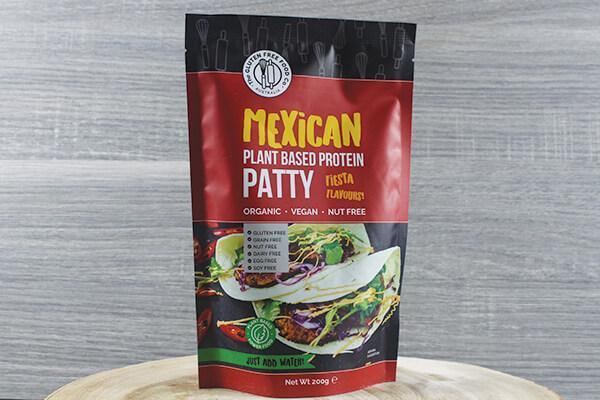 Monica's Mixes Protein Patty Mexican 200g Pantry > Baking & Cooking Ingredients
