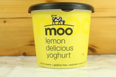 Moo Lemon Delicious Yoghurt 160g