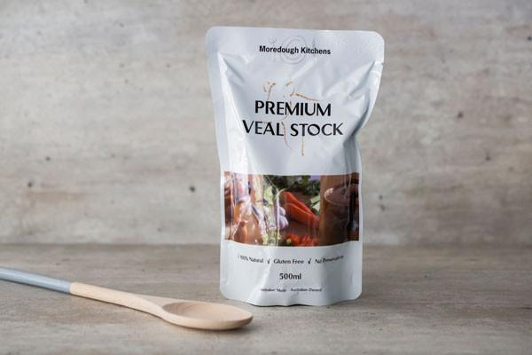 Moredough Kitchens Premium Veal Stock 500ml Pantry > Broths, Soups & Stocks