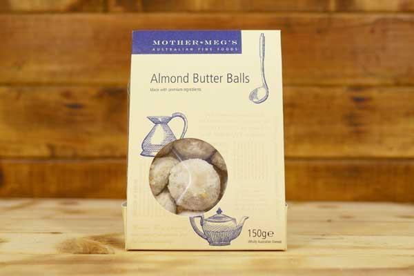 Mother Meg's Almond Butter Balls 150g Pantry > Cookies, Chips & Snacks