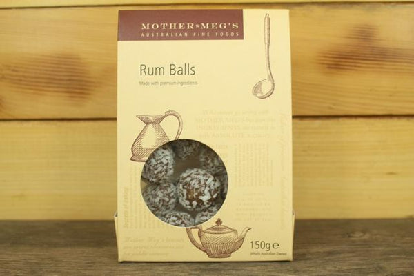 Mother Meg's MM Rum Balls 150g Pantry > Confectionery