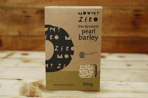 Mount Zero Olives Biodynamic Pearl Barley 500g Pantry > Grains, Rice & Beans