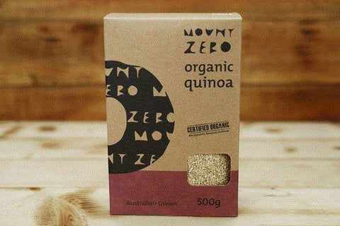 Mount Zero Olives Organic Quinoa 500g Pantry > Grains, Rice & Beans