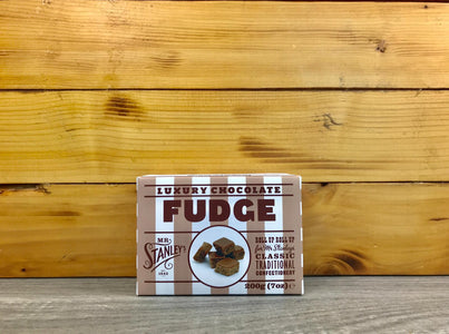Mr Stanley's Chocolate Fudge 200g Pantry > Confectionery