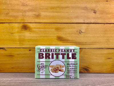 Mr Stanley's Classic Peanut Brittle 200g Pantry > Confectionery