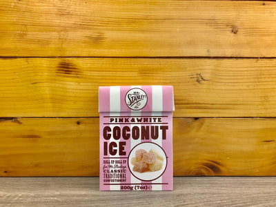 Mr Stanley's Coconut Ice 200g Pantry > Confectionery