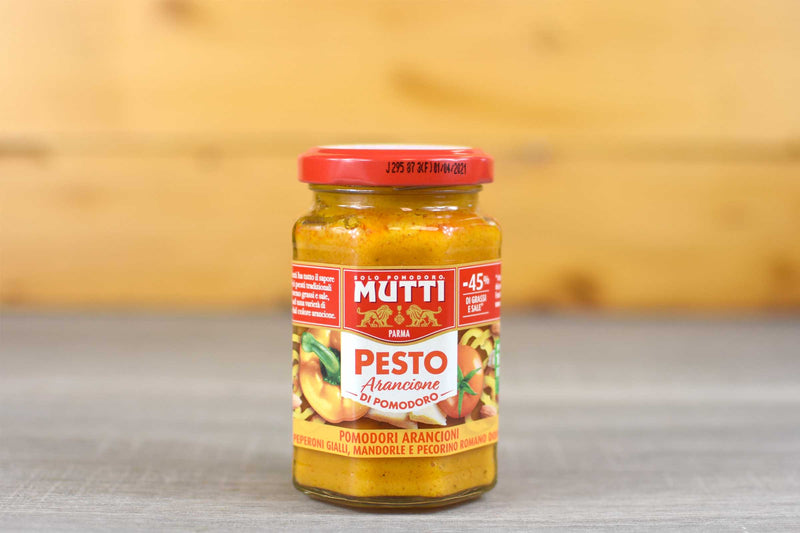 Mutti Orange Tomato Arancione Pesto 180g Pantry > Sauces