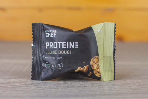 My Muscle Chef Cookie Dough Protein Bite Pantry > Cookies, Biscuits & Sweet Snacks