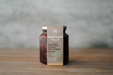Mymoune Almonds Stuffed Dates 350g Pantry > Nut Butters, Honey & Jam
