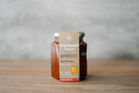 Mymoune Apricot Preserve 350g Pantry > Nut Butters, Honey & Jam