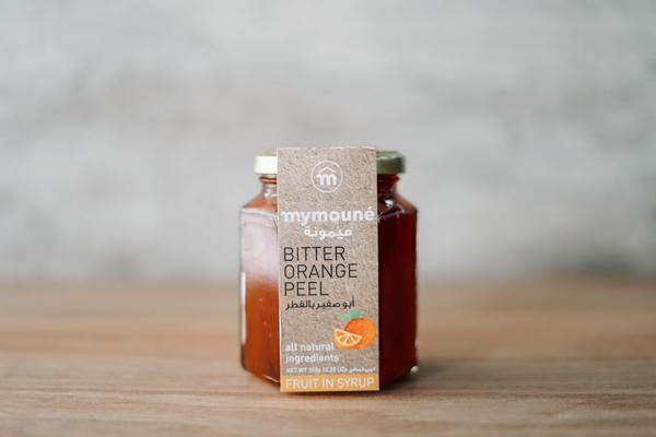 Mymoune Bitter Orange Peel in Syrup 350g Pantry > Nut Butters, Honey & Jam