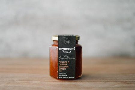 Mymoune Orange & Orange Blossom Water Jam 250g Pantry > Nut Butters, Honey & Jam
