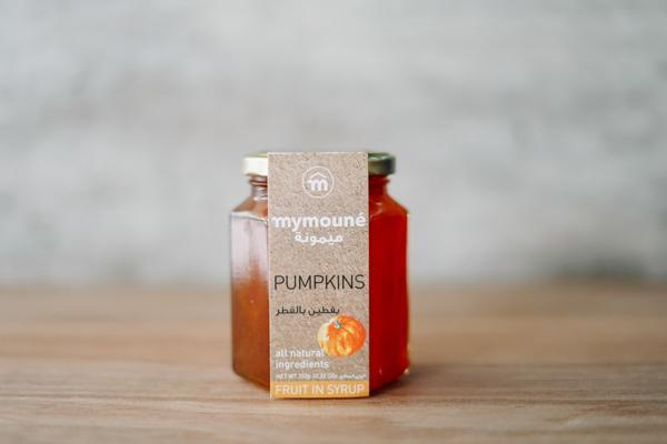 Mymoune Pumpkin in Syrup 350g Pantry > Nut Butters, Honey & Jam