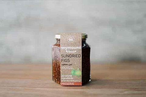 Mymoune Sundried Fig Preserve 350g Pantry > Nut Butters, Honey & Jam