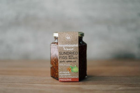 Mymoune Sundried Fig with Walnuts Preserve 350g Pantry > Nut Butters, Honey & Jam