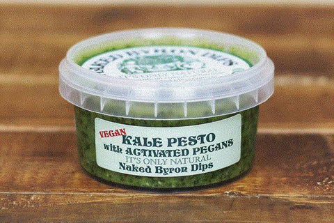 Naked Byron Foods Kale and Activated  Pecan Dip 200g* Deli > Fresh Dips & Salsas
