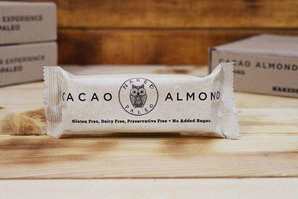 Naked Paleo Cacao Almond Bar 65g Pantry > Granola, Cereal, Oats & Bars