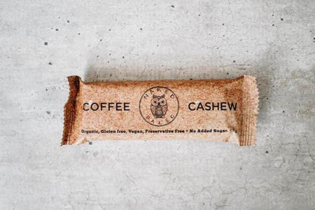 Naked Paleo Coffee Cashew Paleo Bar 65g Pantry > Granola, Cereal, Oats & Bars