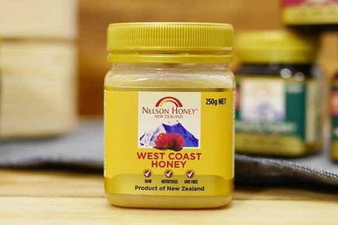 Nelson West Coast Honey 250g Pantry > Nut Butters, Honey & Jam