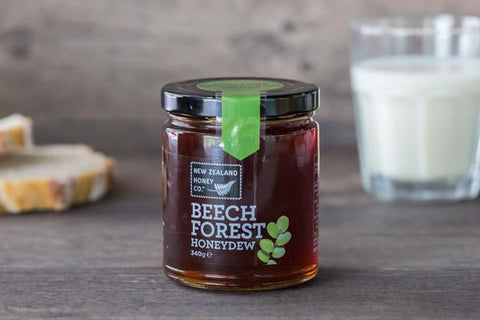 New Zealand Honey Co. Beech Forest Honeydew 340g Pantry > Nut Butters, Honey & Jam
