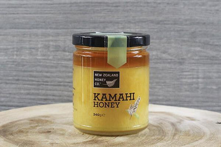 New Zealand Honey Co. Kamahi Honey 340g Pantry > Nut Butters, Honey & Jam
