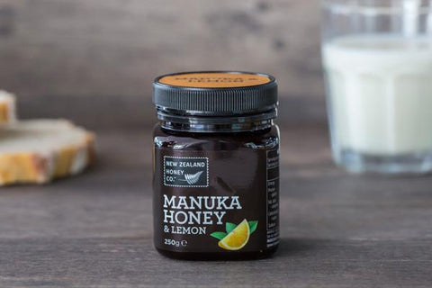 New Zealand Honey Co. Manuka Honey with Lemon 250g Pantry > Nut Butters, Honey & Jam