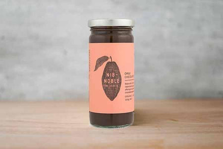 Nib & Noble Organic Chilli Chocolate Sauce 250g Pantry > Condiments