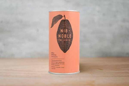 Nib & Noble Organic Chilli Drinking Chocolate 250g Pantry > Drink Mixers & More