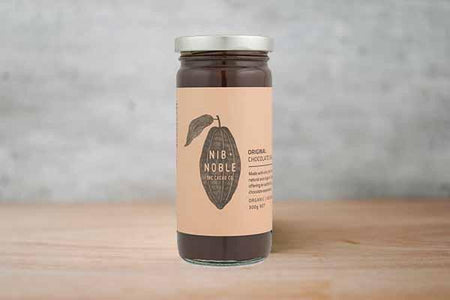 Nib & Noble Organic Original Chocolate Sauce 250g Pantry > Condiments