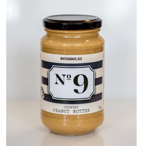 No 9 No 9 Crunchy Peanut Butter 375g Pantry > Nut Butters, Honey & Jam