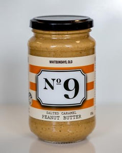 No 9 No 9 Salted Caramel Peanut Butter 375g Pantry > Nut Butters, Honey & Jam