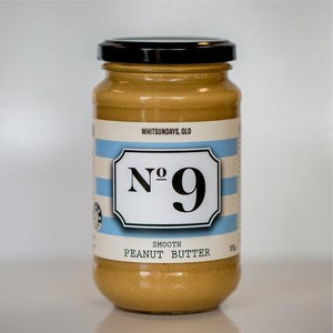 No 9 No 9 Smooth Peanut Butter 375g Pantry > Nut Butters, Honey & Jam
